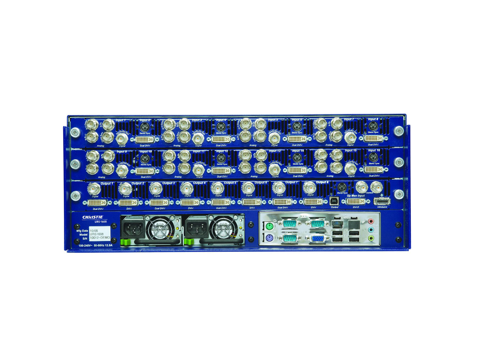 Christie Universal Routing Switcher | 124-002103-XX