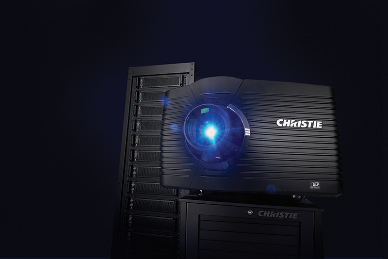 Christie Mirage 4KLH 4K 120Hz 3DLP 3D RGB laser projector head | 146-001102-XX
