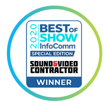 InfoComm Best of Show - Sound and Video Contractor