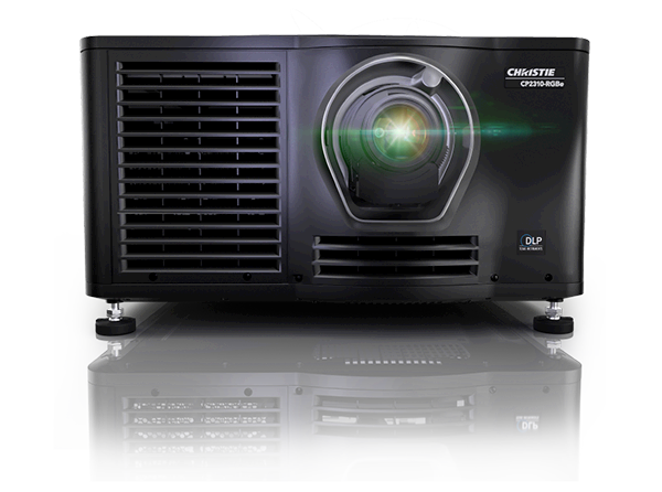 Christie RGBe pure laser projectors